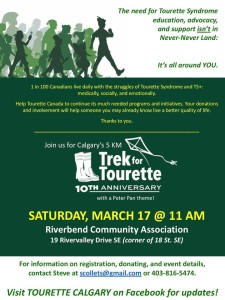 Trek for Tourettes