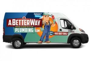 A Better Way Plumbing Van